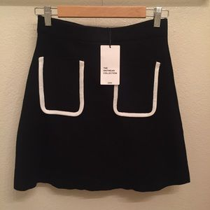 🆕 Zara Knit Black Women's Skirt (Size M)